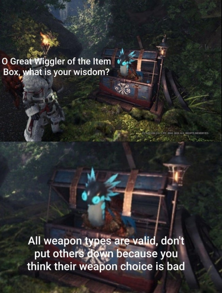 All weapon types are valid