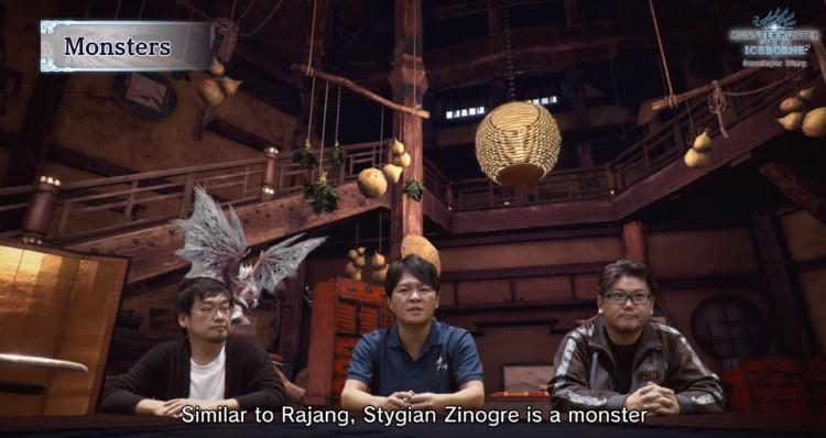 Rajang and Stygian Zinogre is a monster