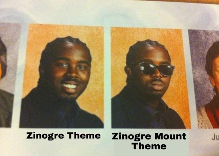 Zinogre THeme vs Zinogre Mount Theme, Cool and Cooler