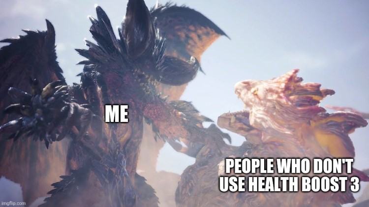 People who dont use health boost