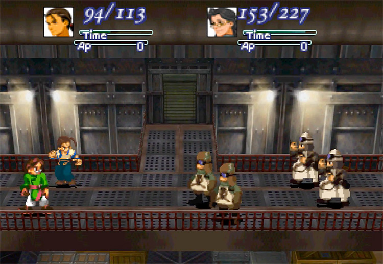Xenogears PlayStation 1 Gameplay Screenshot