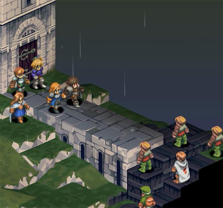 Final Fantasy Tactics PlayStation 1 Gameplay Screenshot