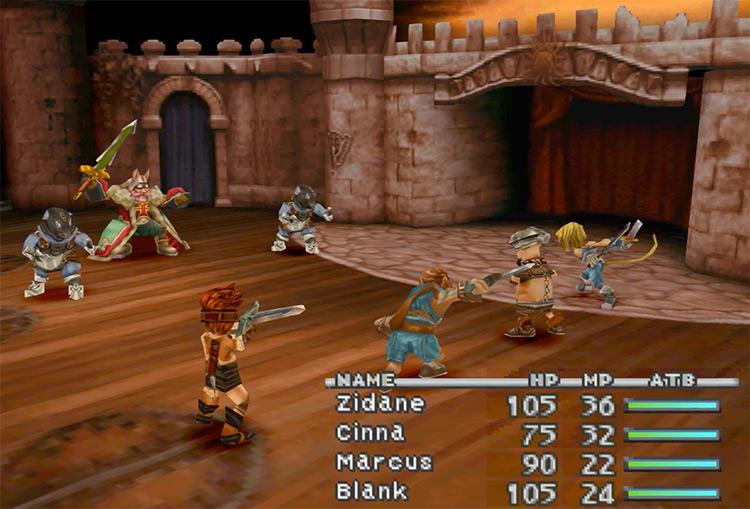 Final Fantasy IX PlayStation 1 Gameplay Screenshot