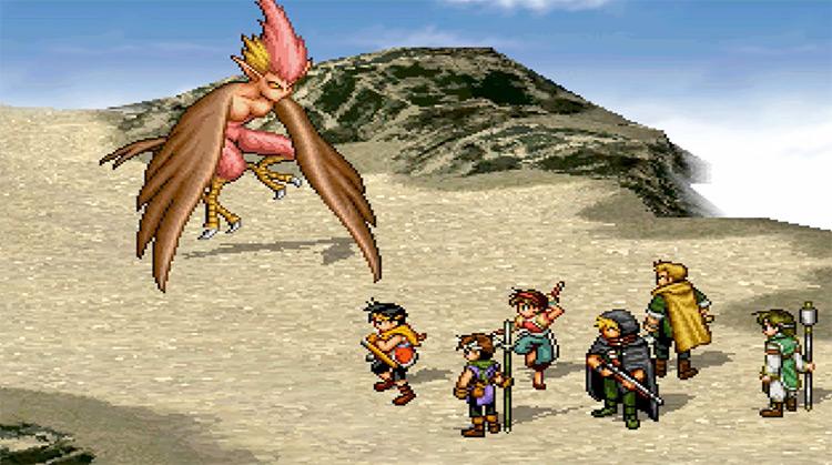 Suikoden II PlayStation 1 Gameplay Screenshot