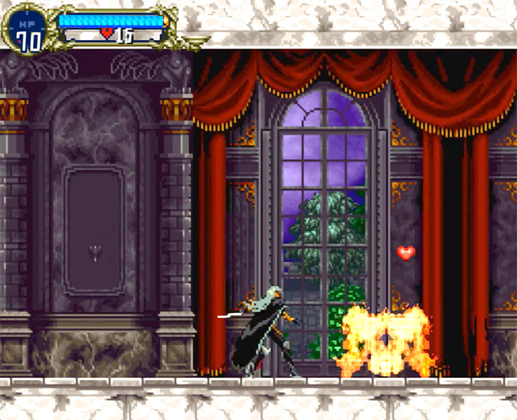Castlevania: Symphony of the Night PlayStation 1 Gameplay Screenshot