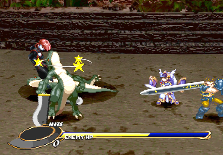 Valkyrie Profile PlayStation 1 Gameplay Screenshot
