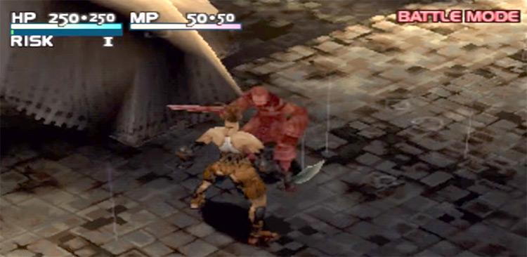 Vagrant Story PlayStation 1 Gameplay Screenshot