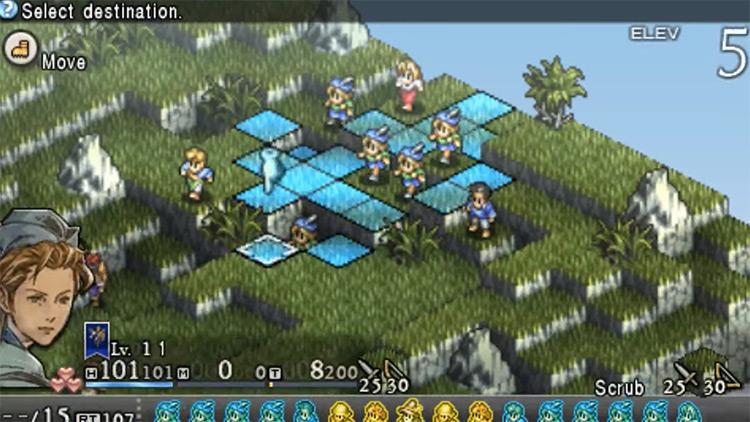 Tactics Ogre: Let Us Cling Together PlayStation 1 Gameplay Screenshot
