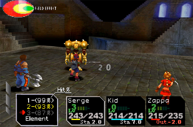 Chrono Cross PlayStation 1 Gameplay Screenshot