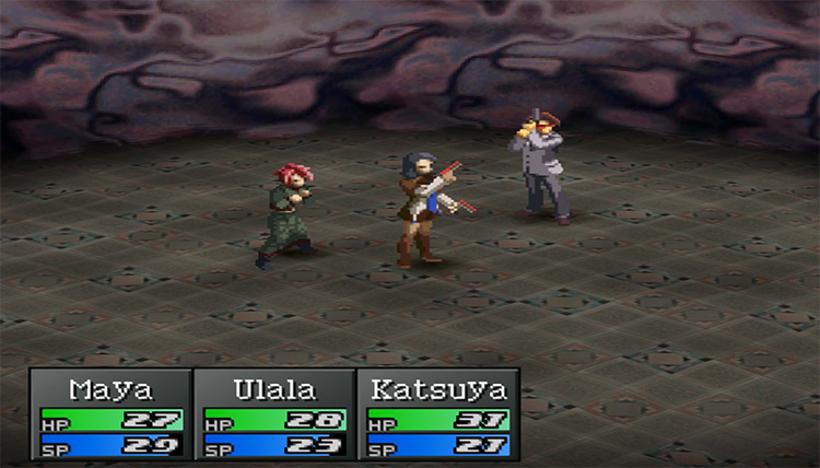 Persona 2: Eternal Punishment PlayStation 1 Gameplay Screenshot