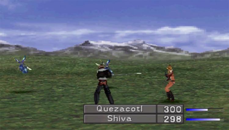 Final Fantasy VIII PlayStation 1 Gameplay Screenshot