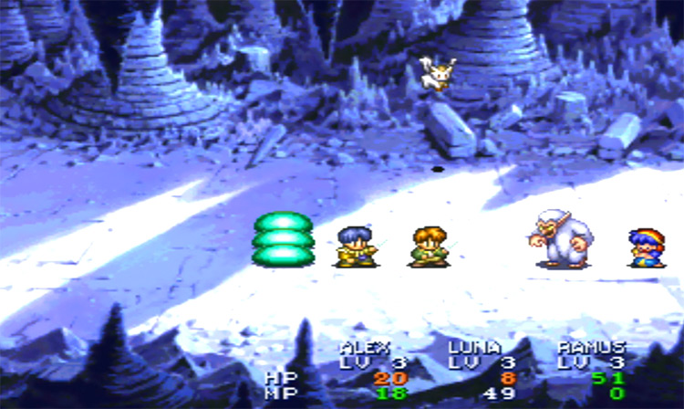Lunar: Silver Star Story Complete PlayStation 1 Gameplay Screenshot