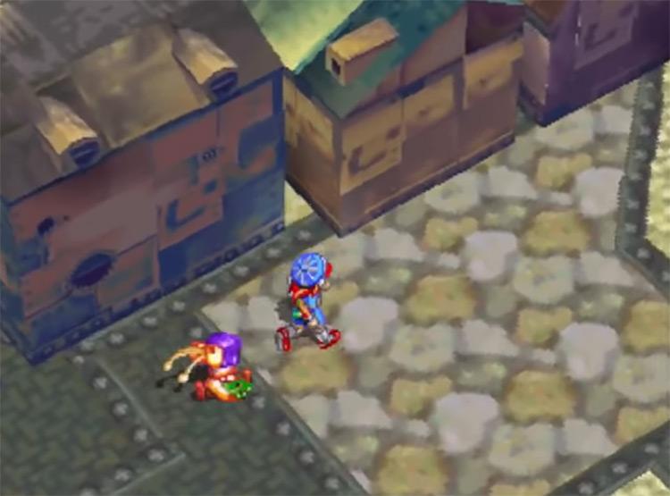 Grandia PlayStation 1 Gameplay Screenshot