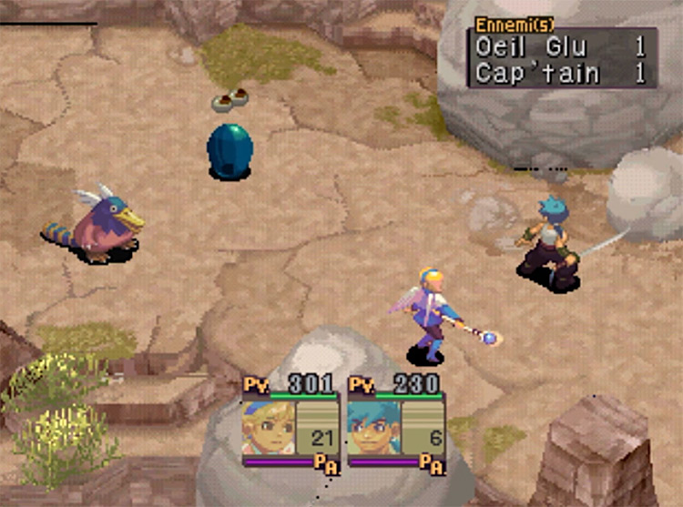 Breath of Fire IV PlayStation 1 Gameplay Screenshot