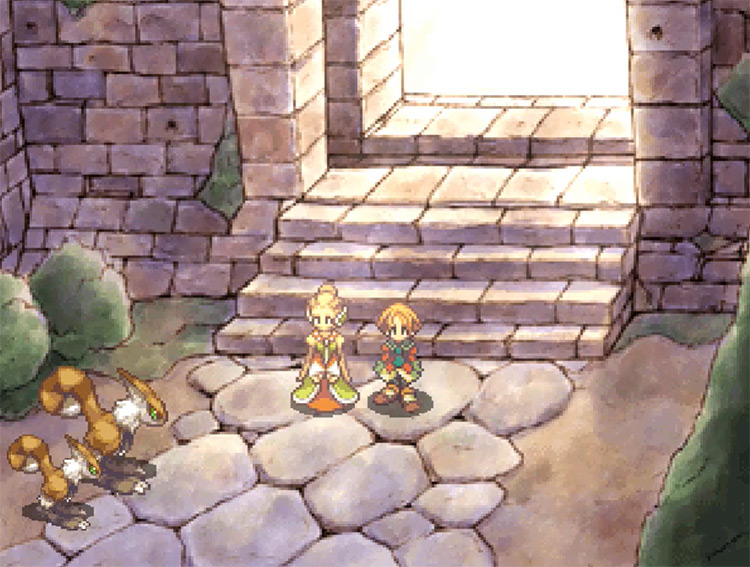 SaGa Frontier II PlayStation 1 Gameplay Screenshot
