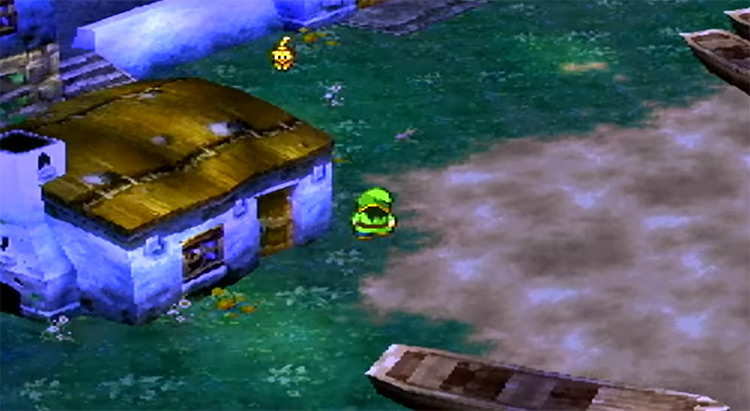 Dragon Quest VII PlayStation 1 Gameplay Screenshot