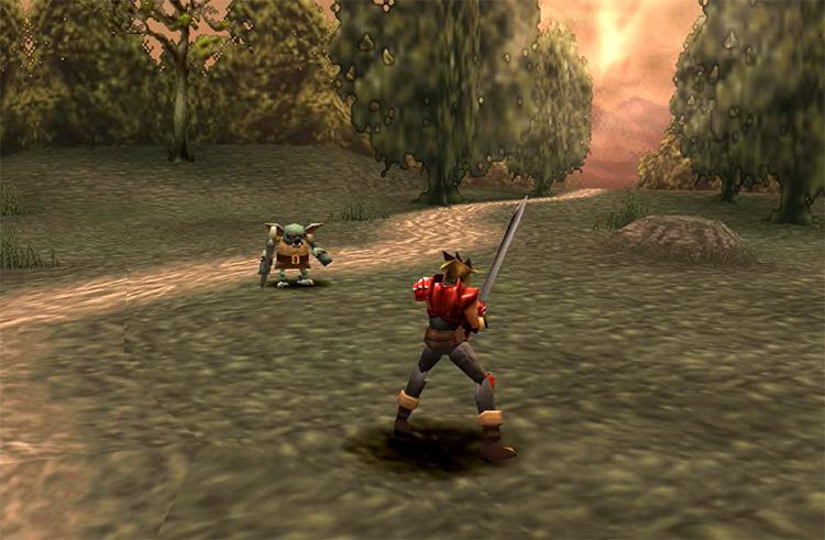 Legend of Dragoon PlayStation 1 Gameplay Screenshot