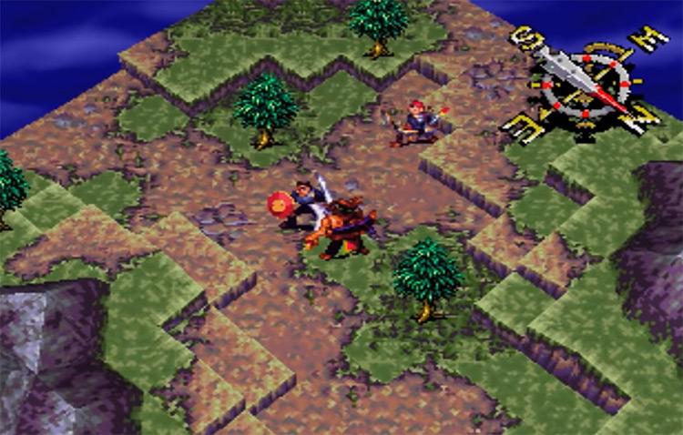 Vandal Hearts PlayStation 1 Gameplay Screenshot