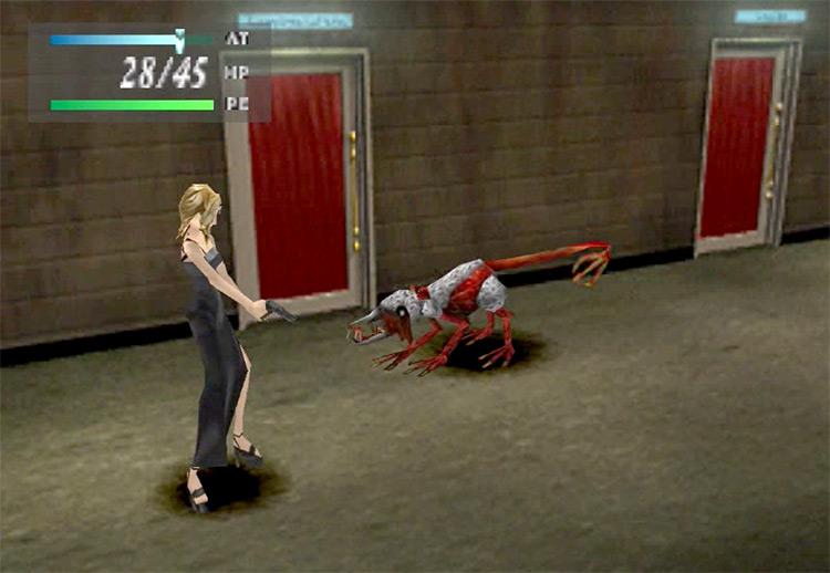 Parasite Eve PlayStation 1 Gameplay Screenshot