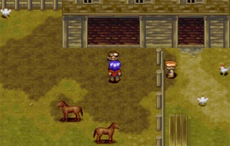 Wild Arms PlayStation 1 Gameplay Screenshot