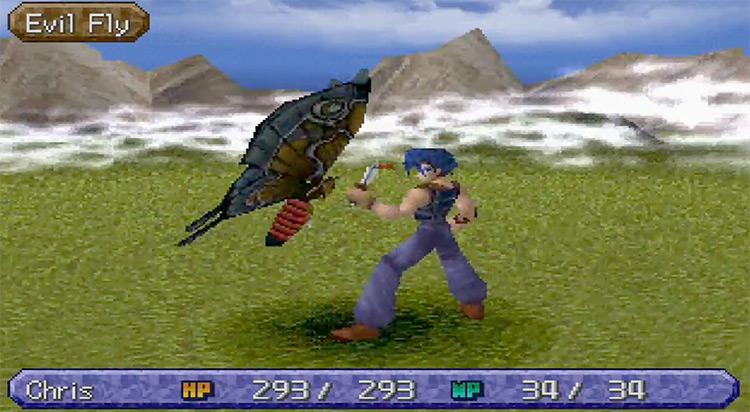 Legend of Legaia PlayStation 1 Gameplay Screenshot