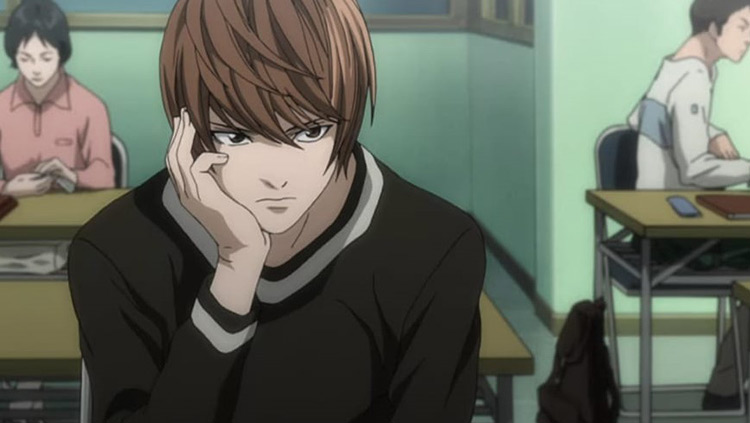 Light Yagami in Death Note