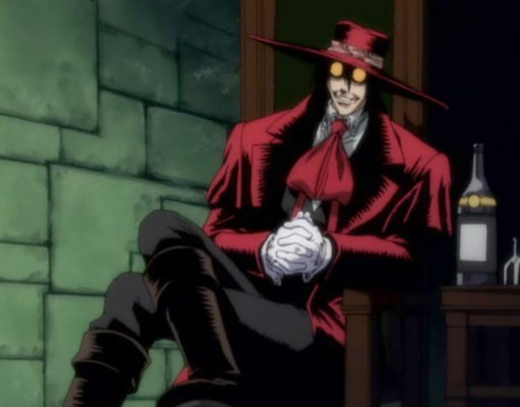 Alucard in Hellsing Anime