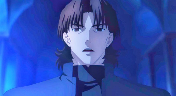 Kotomine Kirei  & Assassin in Fate/stay night & Fate/Zero Anime