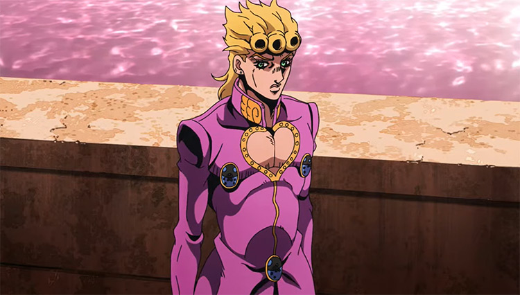 JoJo's Bizarre Adventure V: Golden Wind Anime Screenshot