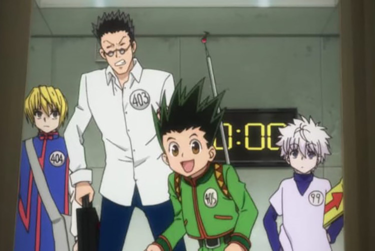 Hunter x Hunter (2011) Anime Screenshot
