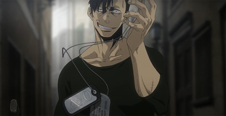 Gangsta Anime Screenshot