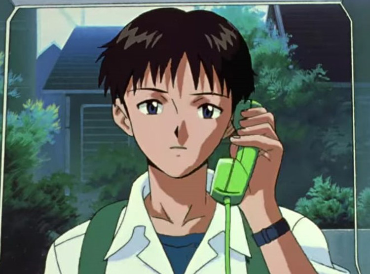 Neon Genesis Evangelion / Evangelion: The End of Evangelion Anime Screenshot