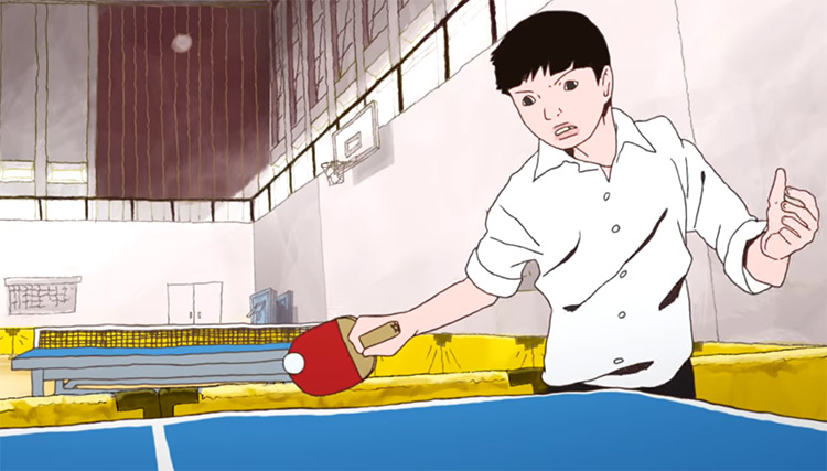 Ping Pong the Animation Anime Screenshot