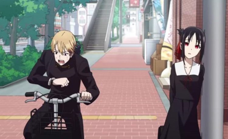 Kaguya-sama: Love is War Anime Screenshot