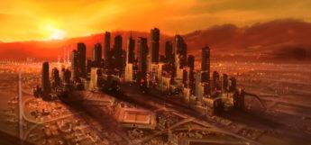 Sunset over Tokyo-3 - Evangelion Opening AMV Screenshot