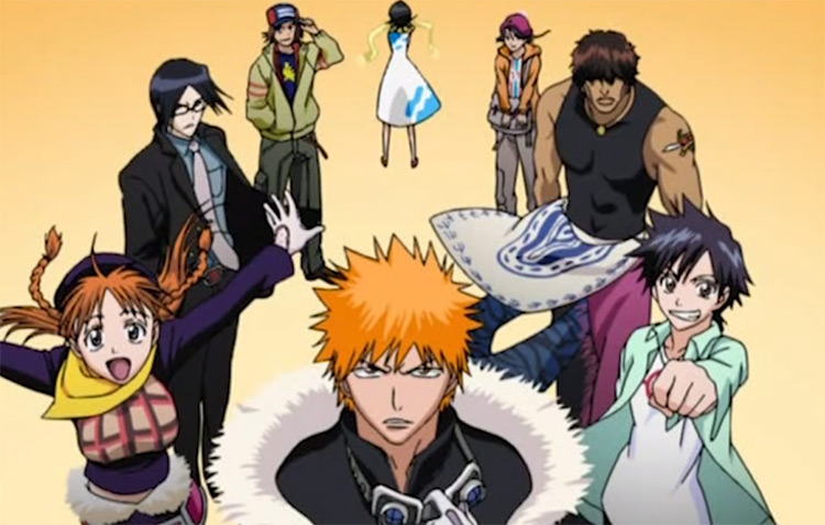 Bleach - Anime Intro Scene
