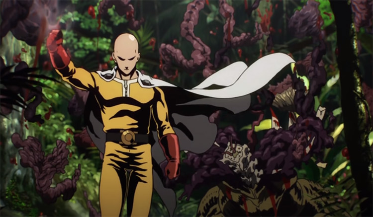 One Punch Man Anime Intro Scene