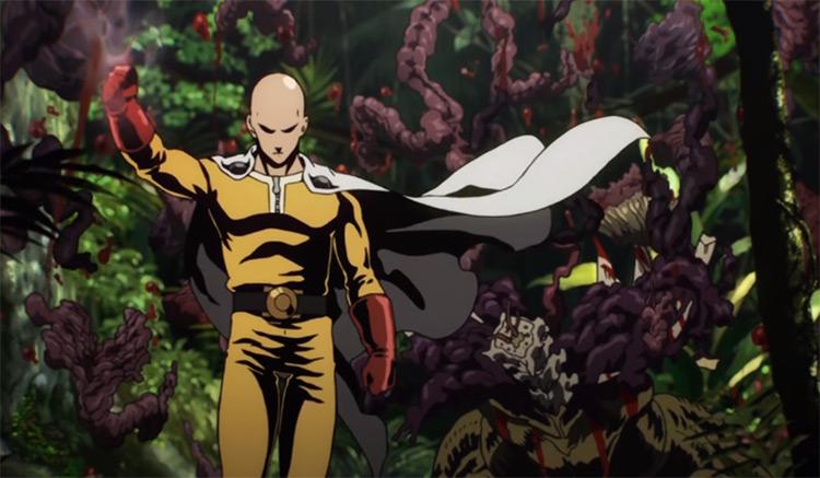 One Punch Man Anime Intro Scene
