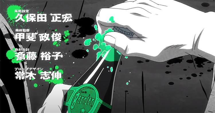 GANGSTA anime intro theme