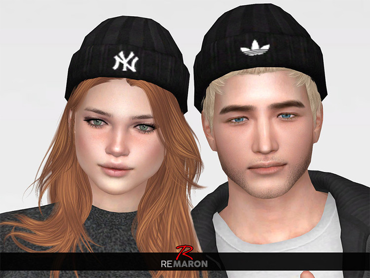 Brand Name Beanies in Sims 4