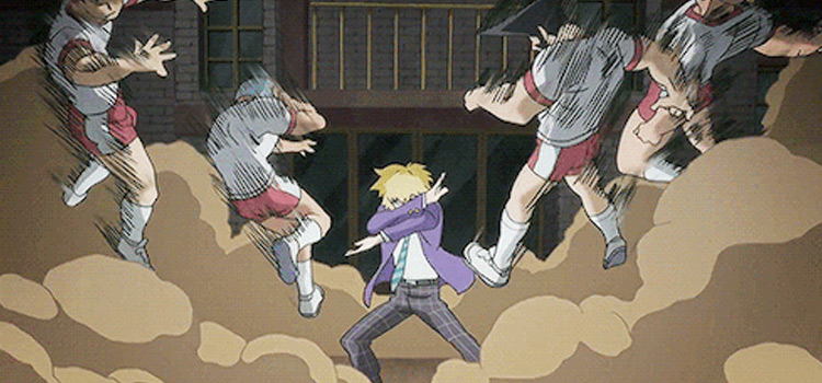 Teruki Hanazawa Battle Scene - Mob Psycho 100 Screenshot
