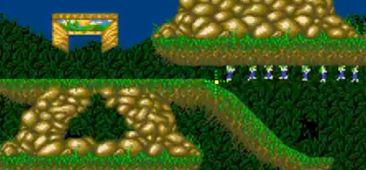 Lemmings 2 for Super Nintendo, game screenshot