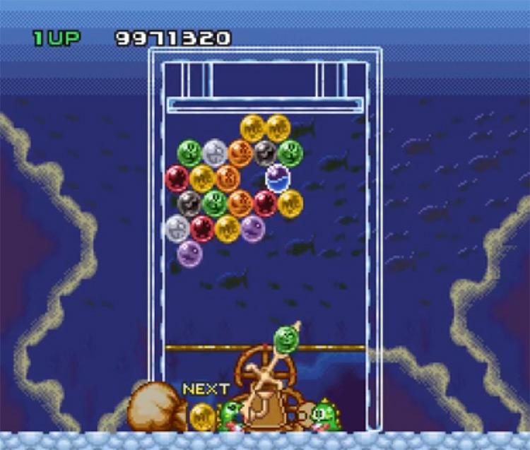 Bust-A-Move Super Nintendo - SNES Screenshot