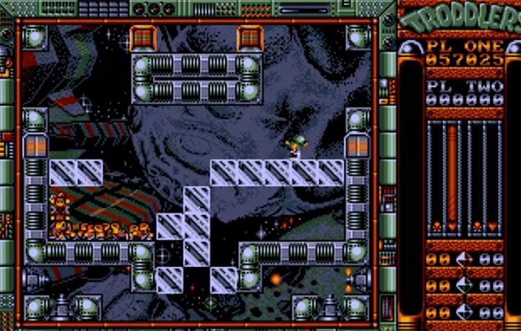Troddlers - SNES Screenshot