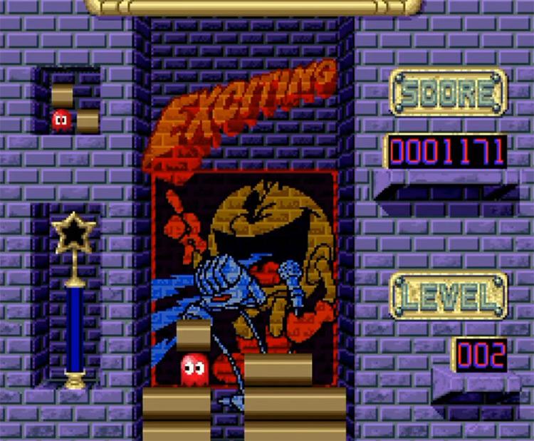 Pac-Attack - SNES Game Screenshot