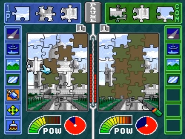 Pieces - SNES Screenshot