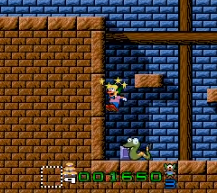 Krusty's Super Fun House - SNES Screenshot