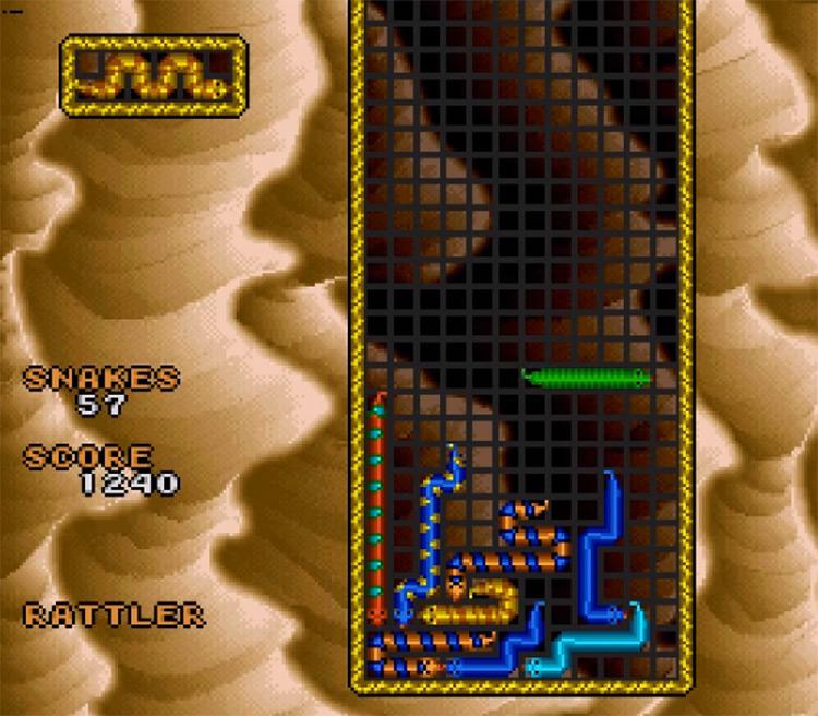 WildSnake SNES Gameplay
