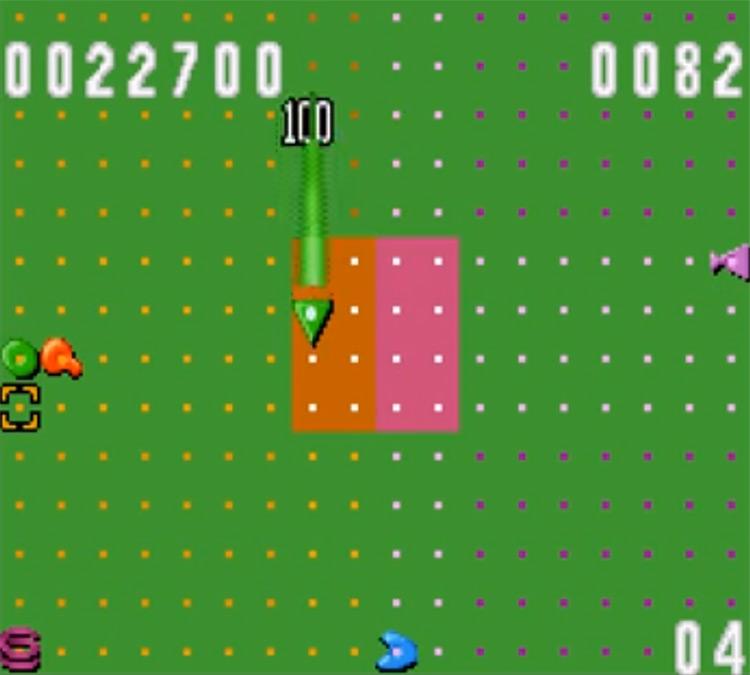 Zoop on SNES - Screenshot