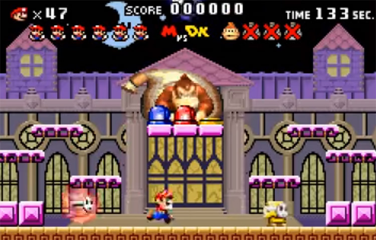 Mario Vs. Donkey Kong GBA Gameplay